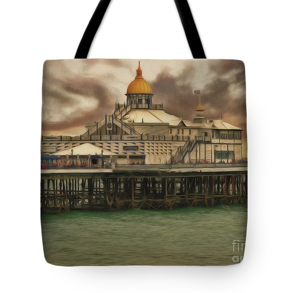 The End Of The Pier Show Tote Bag