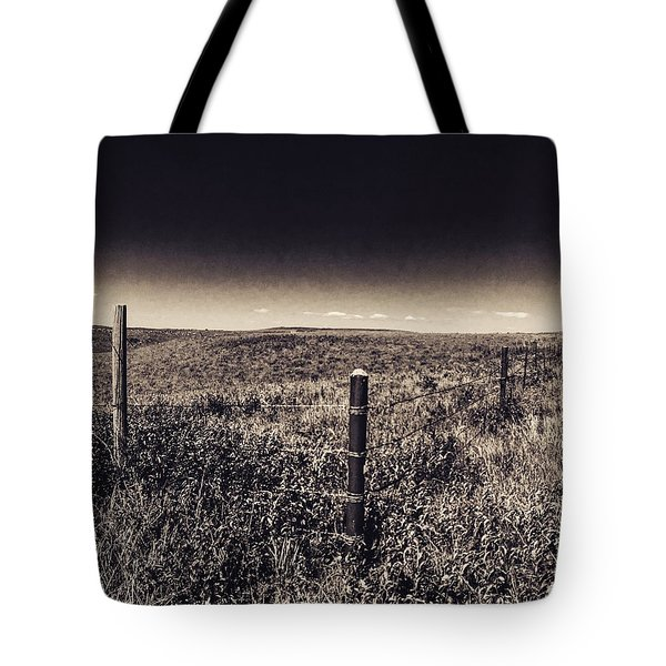 The End Of The Range Tote Bag