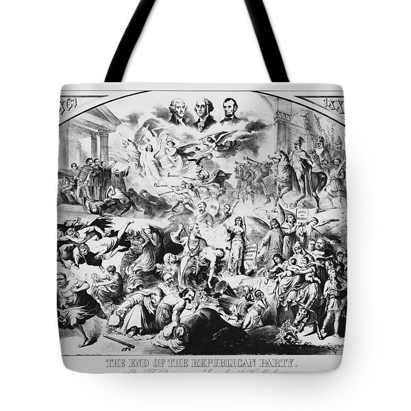 The End Of The Republican Party Tote Bag