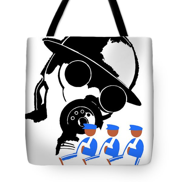 The Enemy Is Syphilis Tote Bag