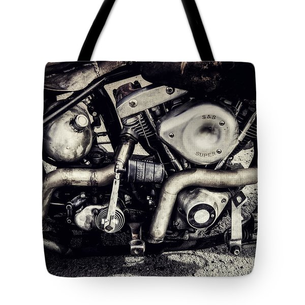 Tote Bag featuring the photograph The Engine by Ari Salmela