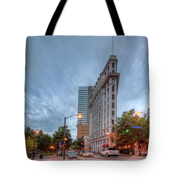 The English--american Building. Atlanta Tote Bag