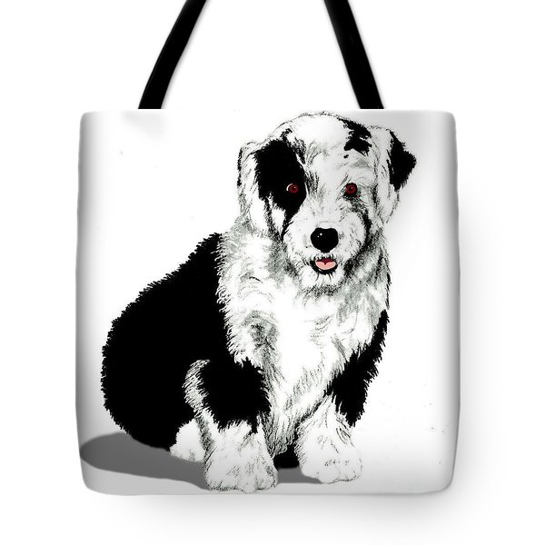 The English Shepherd Tote Bag
