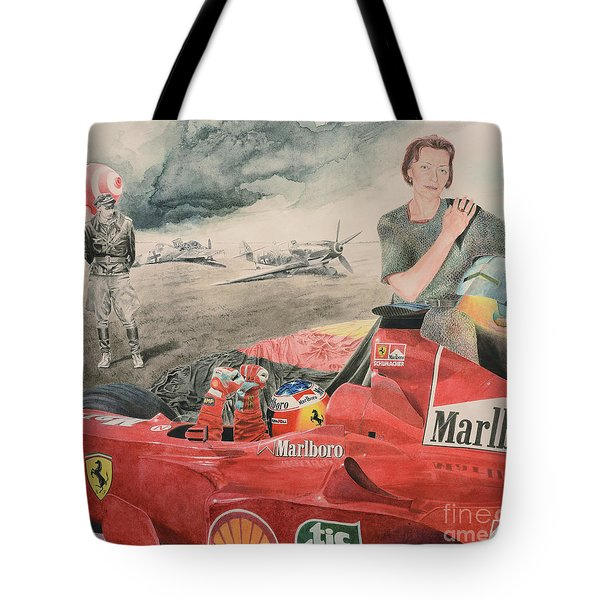The Enigma Of Erich Hartmann Tote Bag by Oleg Konin