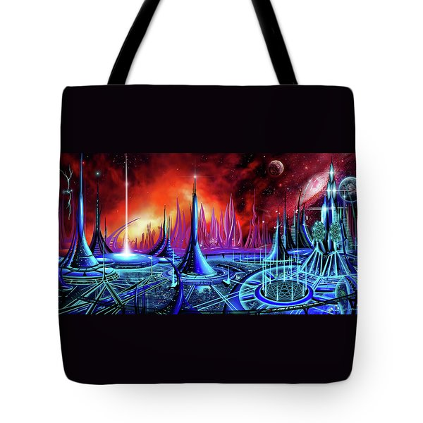 The Enneanoveum Tote Bag by James Christopher Hill