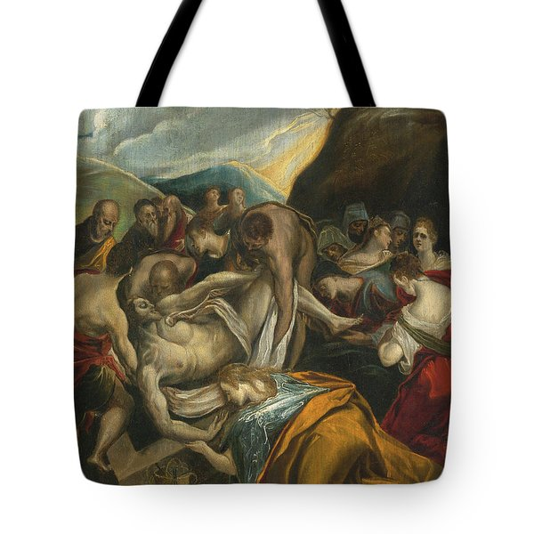 The Entombment Of Christ Tote Bag