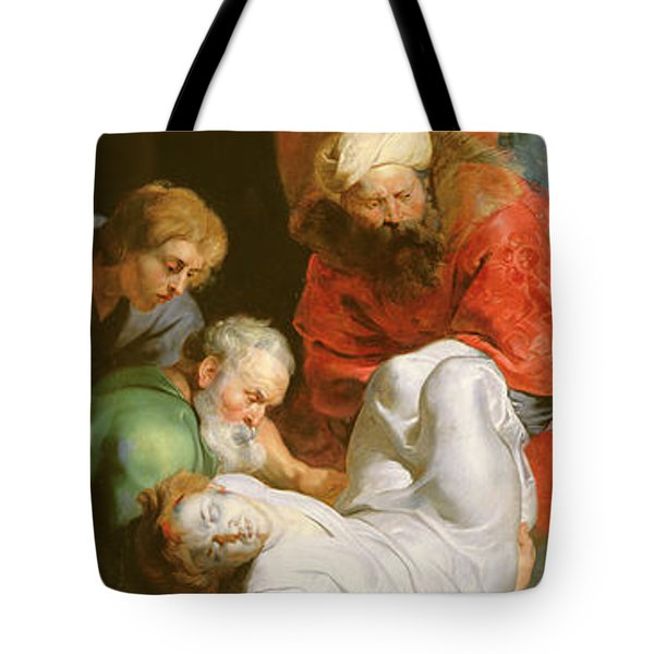 The Entombment Of St Stephen Tote Bag