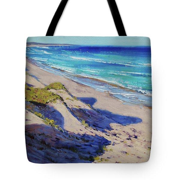 The Entrance Beach Dunes, Australia Tote Bag