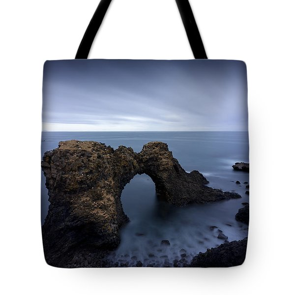 The Entrance Tote Bag by Dominique Dubied