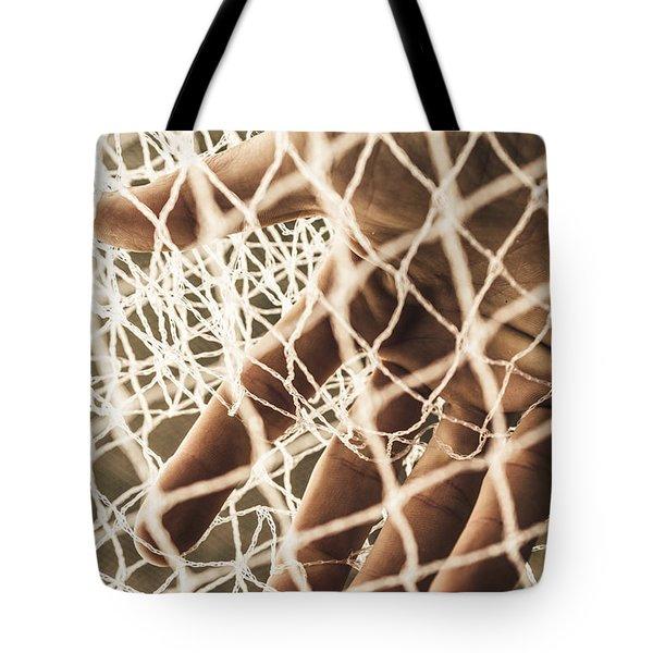 The Entrapment Tote Bag