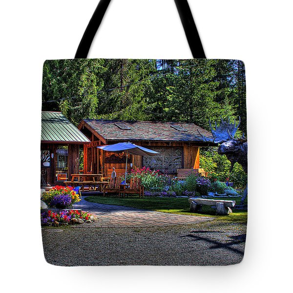 The Entree Gallery II Tote Bag by David Patterson
