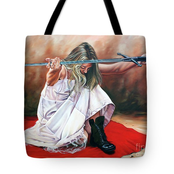The Entrusted Sword Tote Bag