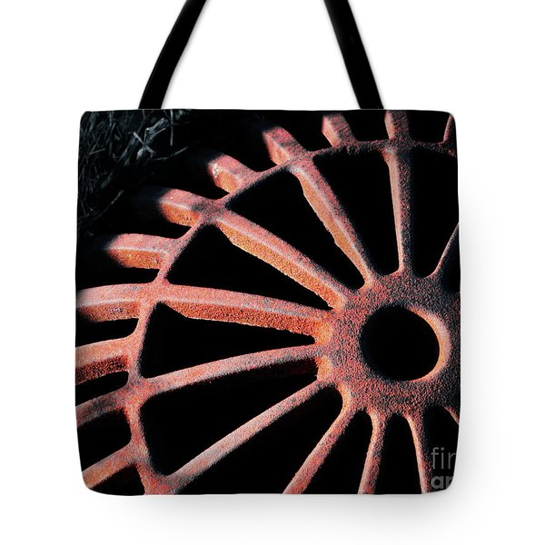 The Erosion Of Time Tote Bag