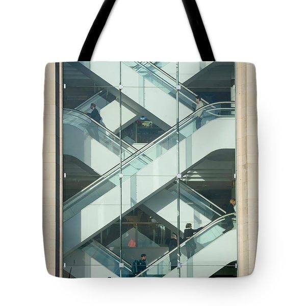 The Escalators Tote Bag