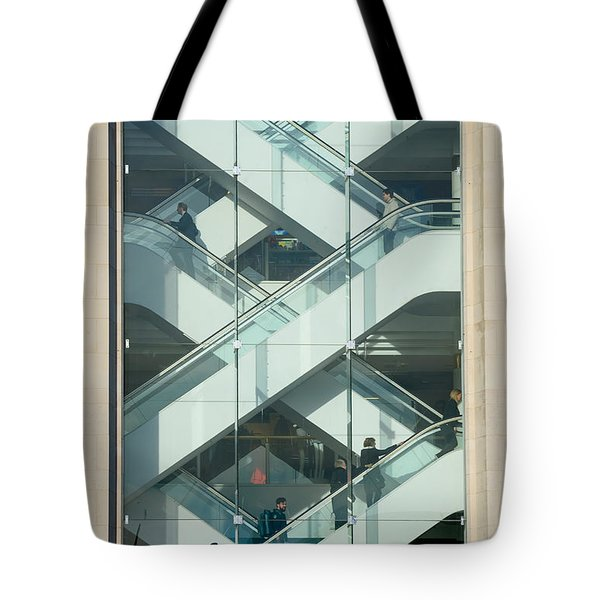 The Escalators Tote Bag by Colin Rayner