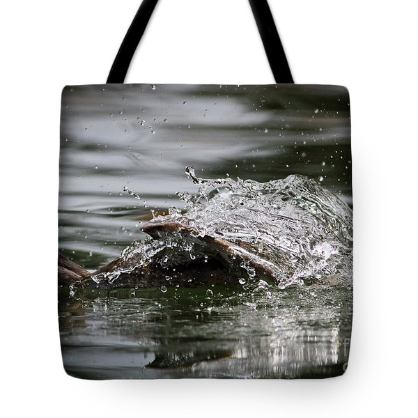 Tote Bag featuring the photograph The Escape by Douglas Stucky