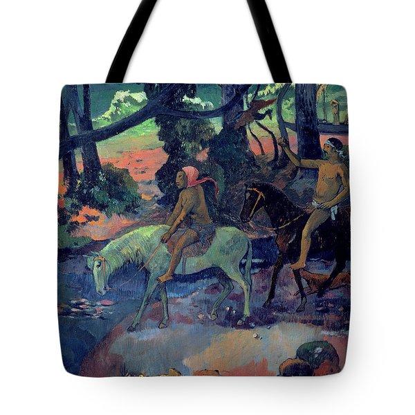 The Escape Tote Bag by Paul Gauguin