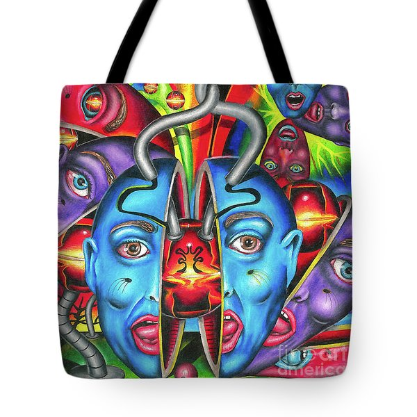 The Esoteric Force Of Molecular Mentality Tote Bag