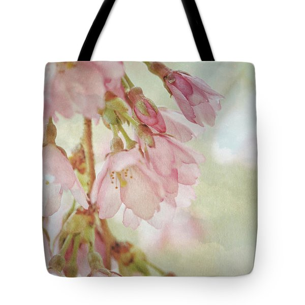 Tote Bag featuring the photograph The Essence Of Springtime  by Connie Handscomb