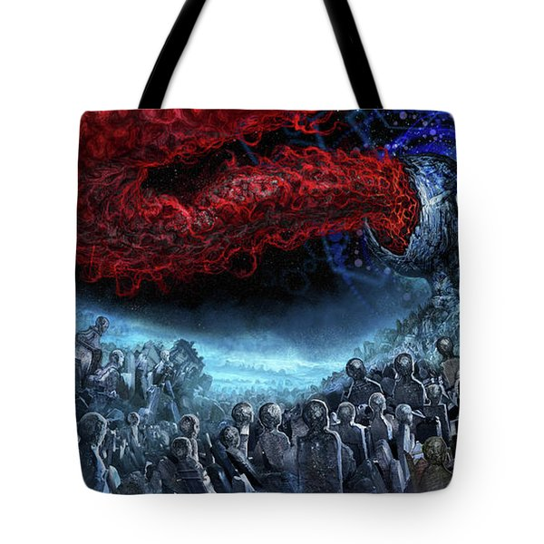 The Essence Of Time Matches No Flesh Tote Bag