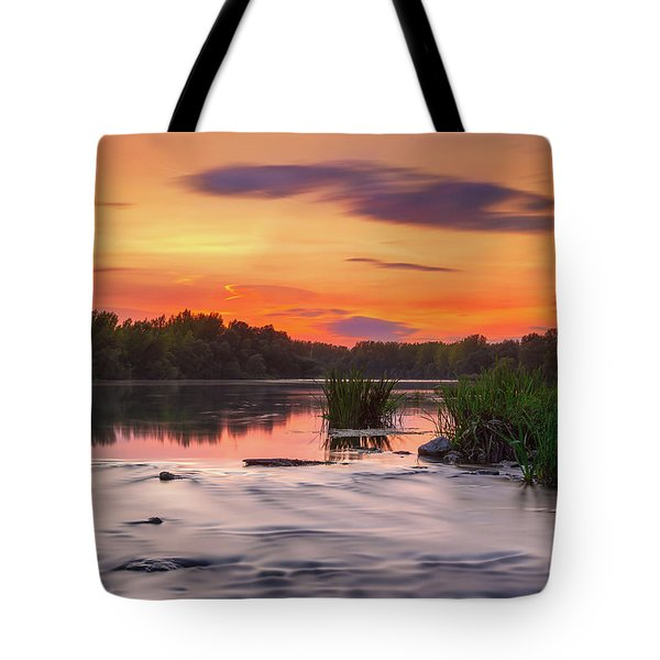 The Eve On The River Tote Bag