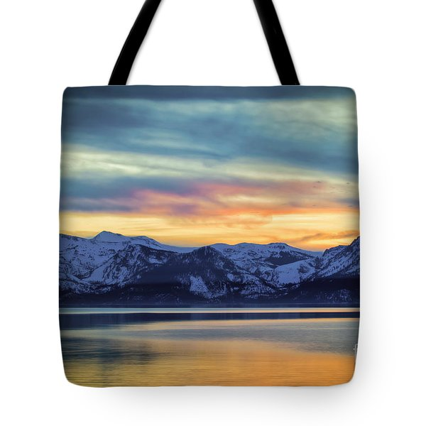 The Evening Colors Tote Bag
