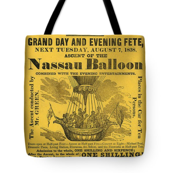The Evening Fete Tote Bag