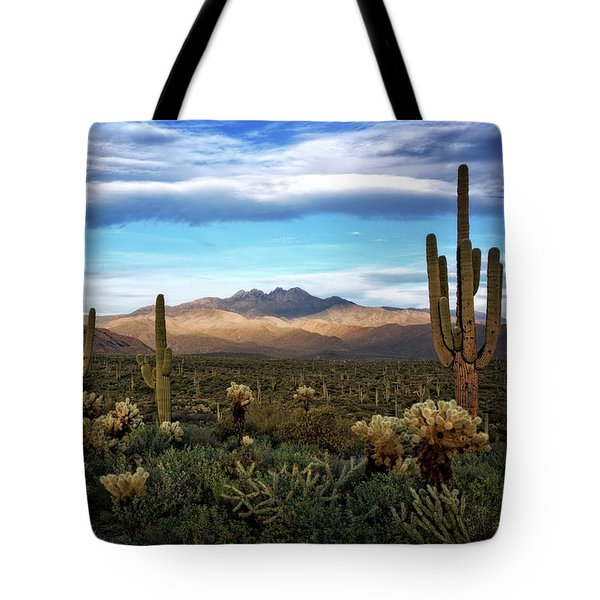 Tote Bag featuring the photograph The Evening Glow  by Saija Lehtonen