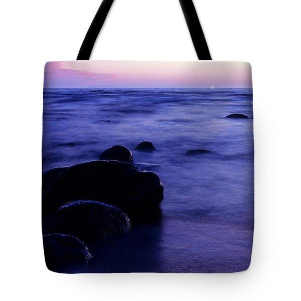 The Evening Tote Bag by Konstantin Dikovsky