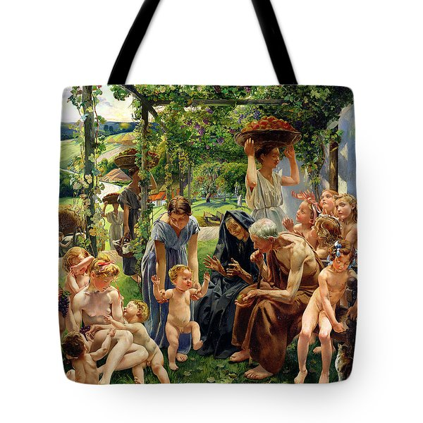 The Evening Tote Bag by Leon Henri Marie Frederic