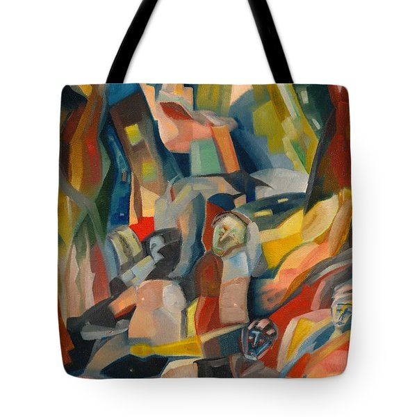 The Evening News Tote Bag