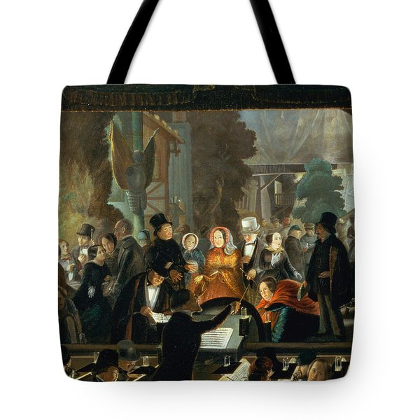 The Evening Performance Tote Bag by Andreas Schimpf