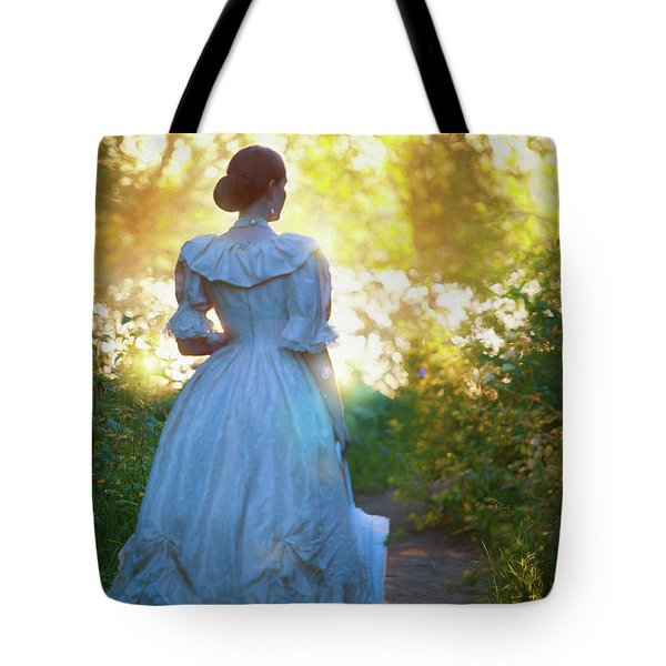 The Evening Walk Tote Bag by Lee Avison