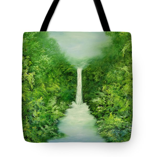 The Everlasting Rain Forest Tote Bag by Hannibal Mane