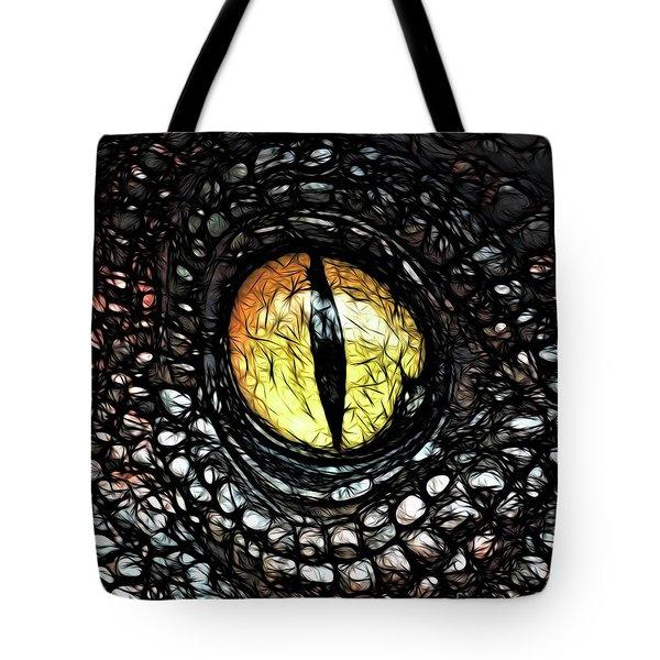 The Evil Eye By Raphael Terra Tote Bag