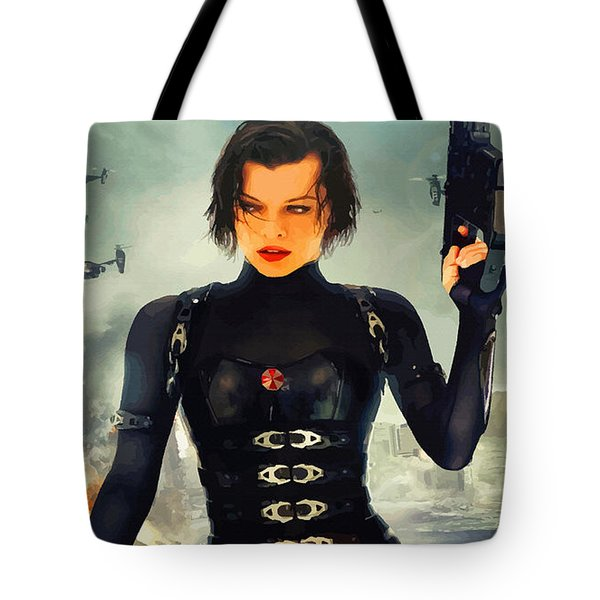 The Evolution Of Project Alice Tote Bag