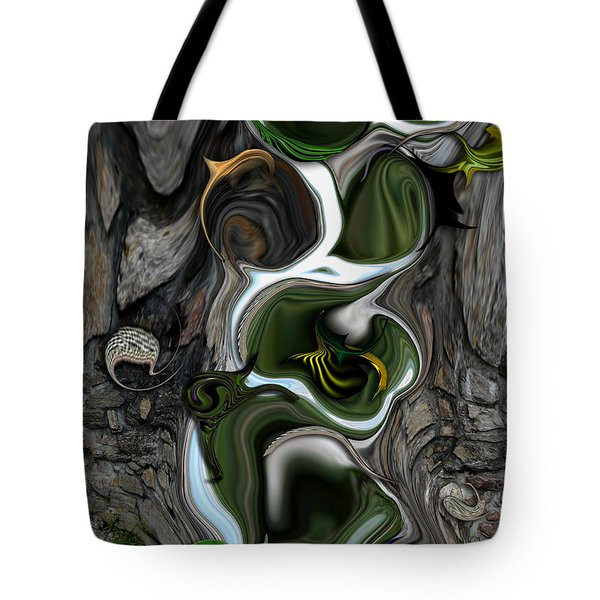 The Evolving Dimensionality Tote Bag by Carmen Fine Art