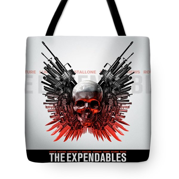 The Expendables Tote Bags Fine Art America