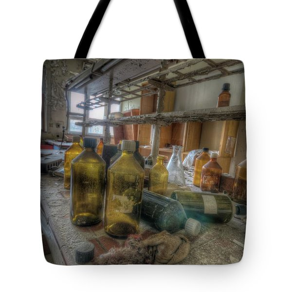 The Experiment  Tote Bag by Nathan Wright