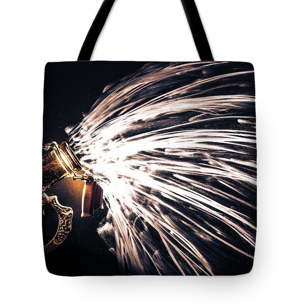 The Exploding Growler Tote Bag