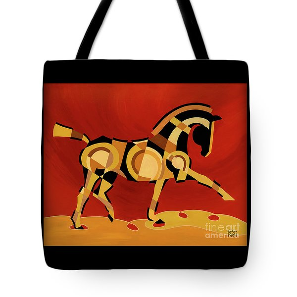 The Extension Of Equus Tote Bag
