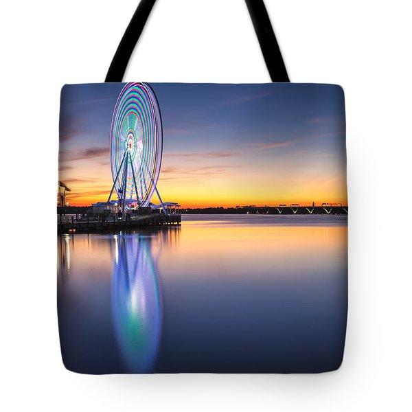 The Eye 2 The Sky Tote Bag
