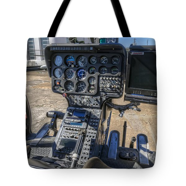 The Eye In The Sky Tote Bag by Tim Stanley
