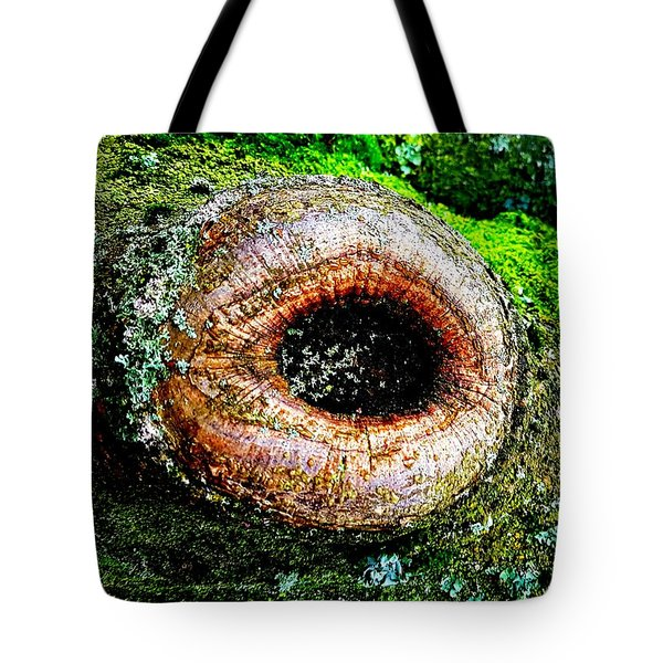 The Eye In The Tree Tote Bag
