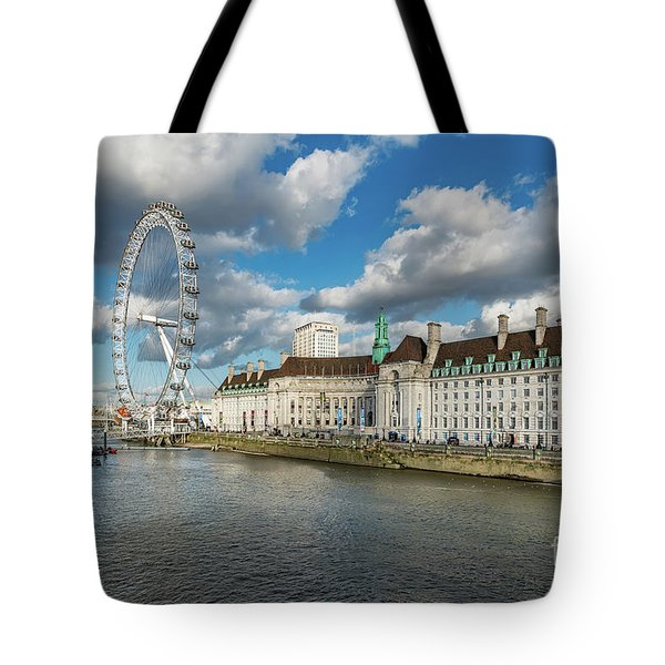 The Eye London Tote Bag