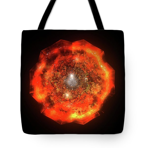 The Eye Of Cyma - Fire And Ice - Frame 146 Tote Bag