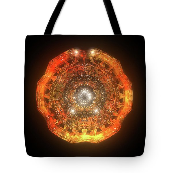 The Eye Of Cyma - Fire And Ice - Frame 160 Tote Bag