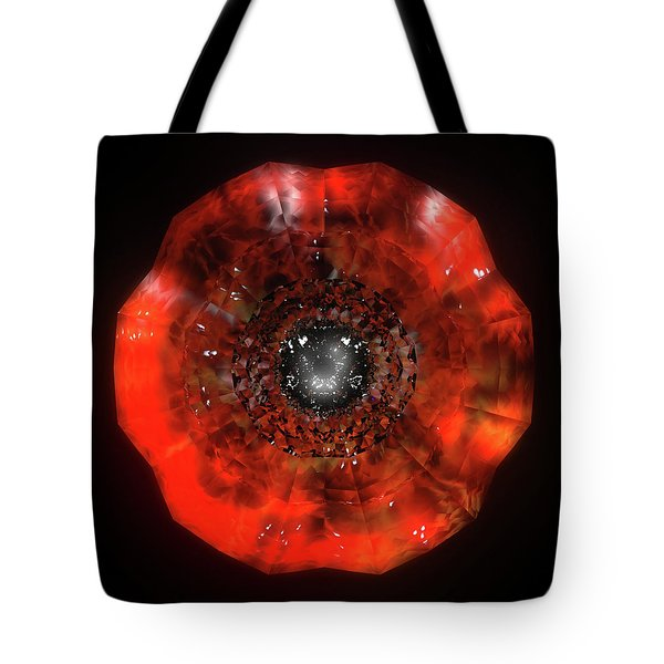 The Eye Of Cyma - Fire And Ice - Frame 40 Tote Bag