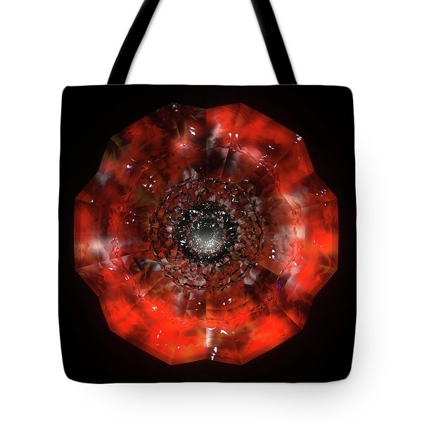 The Eye Of Cyma - Fire And Ice - Frame 45 Tote Bag