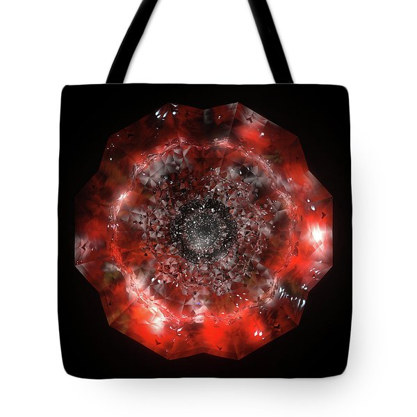 The Eye Of Cyma - Fire And Ice - Frame 49 Tote Bag